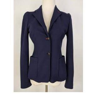 Zara Navy Blue Blazer Size Medium